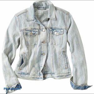 GAP 1969 Distressed Denim Jacket